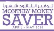 Monthly Money Saver April - May 2016