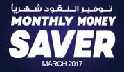 Monthly Money Saver - March 2017