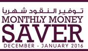 Monthly Money Saver December - January 2016