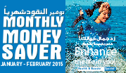 Monthly Money Saver January - February 2015