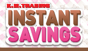Instant Savings March - April 2015