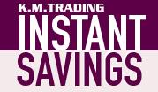 Instant Savings September - October 2014